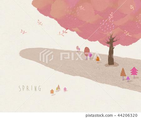Spring Background 3 44206320