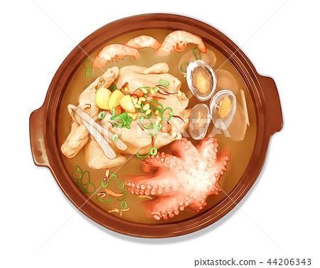 Food Illust 12 44206343