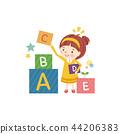alphabet child english 44206383