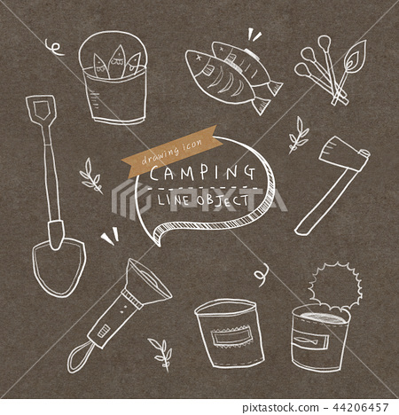 Camping drawing icon 2 44206457