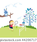 Sports illustration 03 44206717
