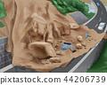 Disaster Awareness - Landslide Awareness Vector Illustration 44206739