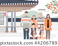 Korean Holiday Promotion Vector Illustration 02 44206789