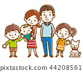 행복 가족 수공 바람 44208561