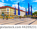 Old Town architecture in Bayreuth, Germany 44209231