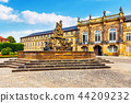 Old Town architecture in Bayreuth, Germany 44209232