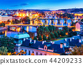 Evening scenery of Prague, Czech Republic 44209233