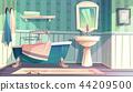 Bathroom vector provence vintage style interior 44209500