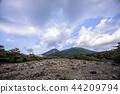 蝦野高原 霧島山 火山岩 44209794