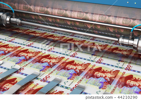 Printing 500 SEK Swedish krona money banknotes 44210290