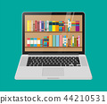 book shelf laptop 44210531