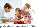 vaccination to a child 44210766