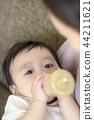 아기, 젖병, 가족 44211621