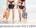 海滩 朋友 幸福 44211894