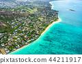 """""""夏威夷""""拉尼凱海灘,瓦胡島""""航空攝影"""" 44211917"""