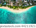 """""""夏威夷""""拉尼凱海灘,瓦胡島""""航空攝影"""" 44211921"""