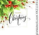 圣诞节 圣诞 冬青 44211931
