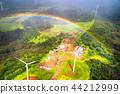 彩虹 夏威夷 航拍照片 44212999