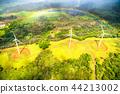 彩虹 夏威夷 航拍照片 44213002