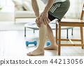 中年男子膝盖疼痛 44213056