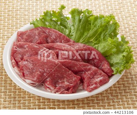 얇게 썬 쇠고기 44213106