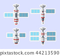 Set of satellite icon isolated on white background 44213590