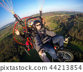 Powered paragliding tandem flight 44213854