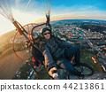 Powered paragliding tandem flight 44213861