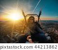Powered paragliding tandem flight 44213862