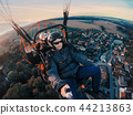 Powered paragliding tandem flight 44213863