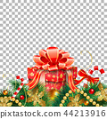 Christmas and New Year Banner 44213916