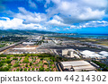 สนามบิน,ฮาวาย,มุมมองทางอากาศ 44214302