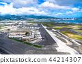 """""""夏威夷""""檀香山国际机场/瓦胡岛""""航空摄影"""" 44214307"""