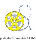 movie, reel, frame 44214369