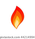 fire, flame, vector 44214994