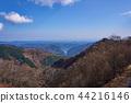 Ariyama dam and Lake Naguri from Arimasu Pass in Saitama Prefecture 44216146