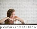 玻璃 女人 女性 44218737