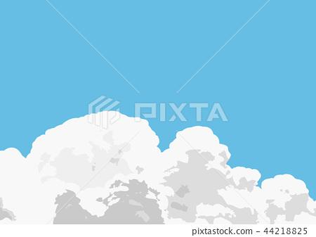 Clouds illustration 44218825