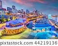 Seattle, Washington, USA Pier and Skyline 44219136