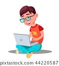 computer, boy, little 44220587