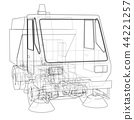 Small Street Clean Truck Concept 44221257