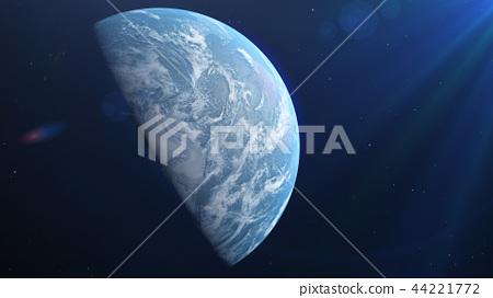 Earth 3DCG perming3DCG160812插圖素材 44221772