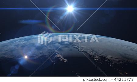 Earth 3DCG perming3DCG160812插图素材 44221775