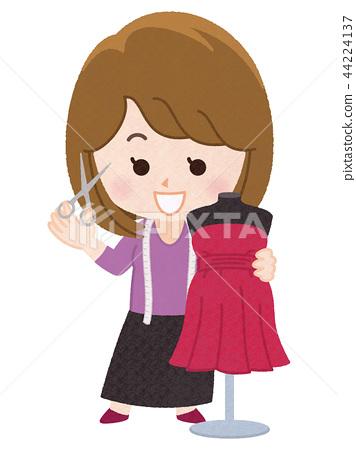 西式服装制作 礼服 裙子 44224137