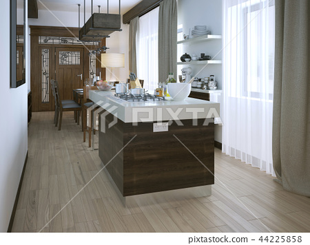 Kitchen in a modern style 44225858