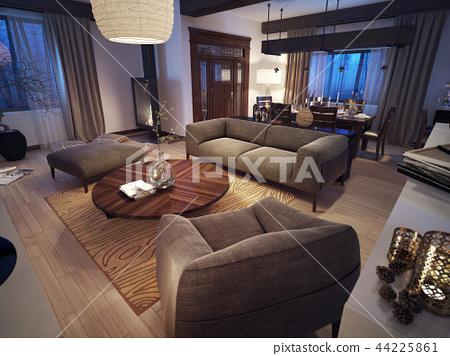Modern living room 44225861