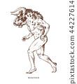 minotaur, bull, mythology 44227614