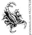 design, scorpion, art 44227618