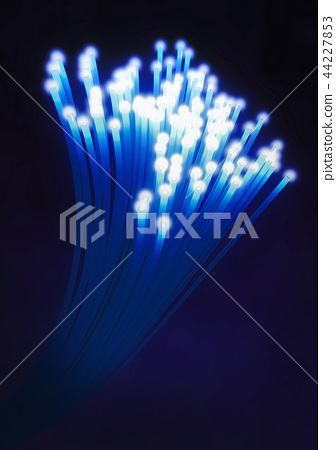 Optical fiber cable or fiber optics 44227853