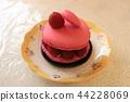 sweet, macaroon, framboise 44228069